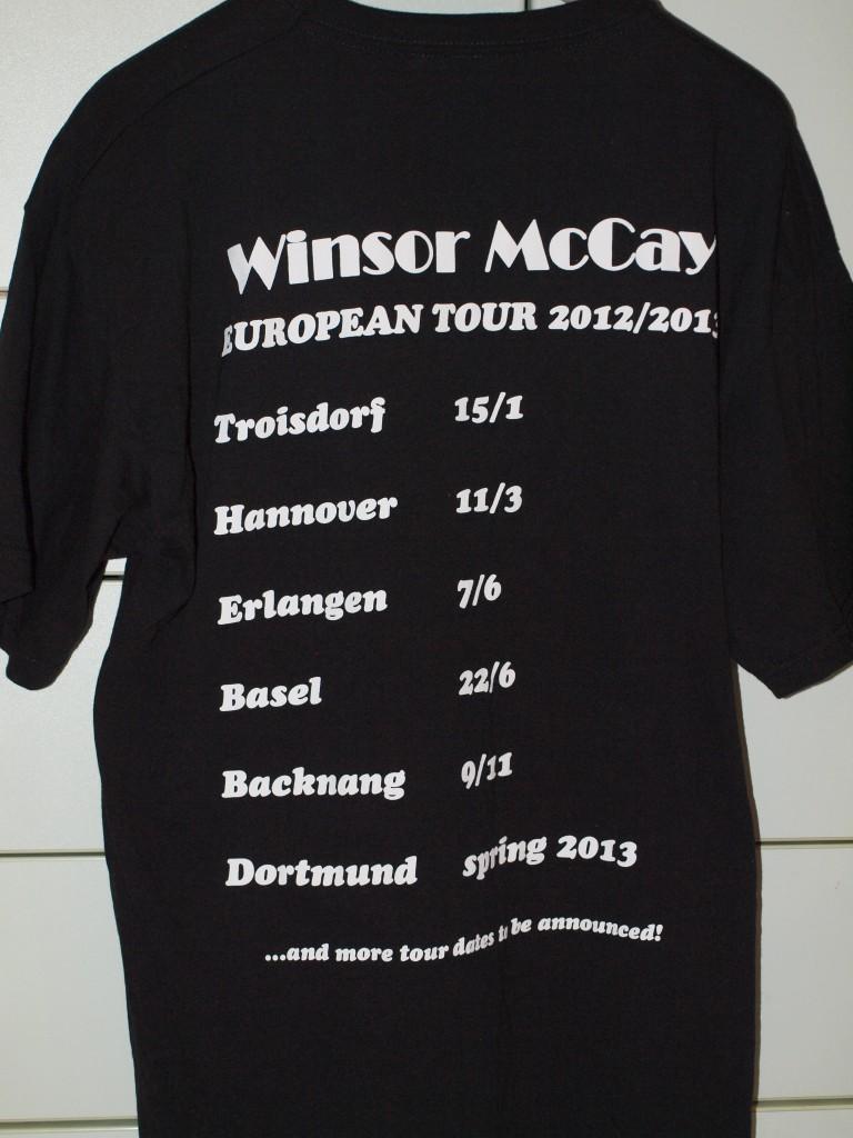 Winsor McCay European Tour