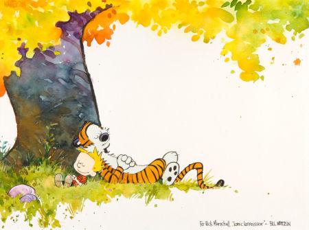 Calvin e Hobbes Asta Heritage Febbraio