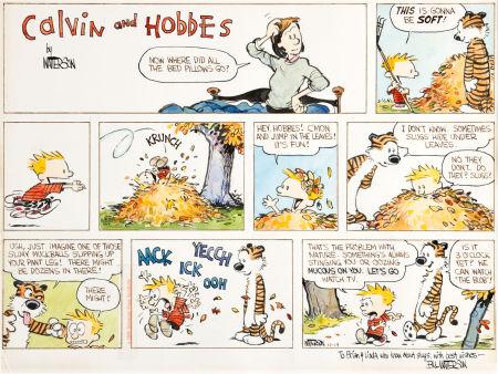 Calvin e Hobbes Asta Heritage Novembre