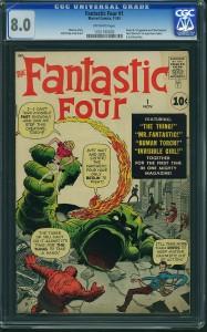 Fantastic Four #1 CGC