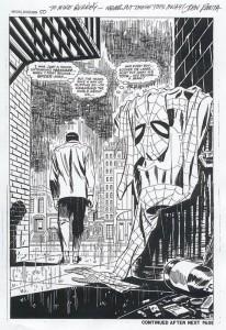 Amazing Spiderman 50 splash page