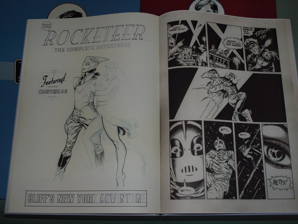 Stevens Rocketeer - IDW Artist Edition