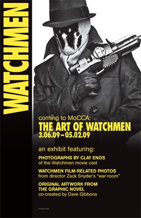 Mostra Watchmen al MoCCA