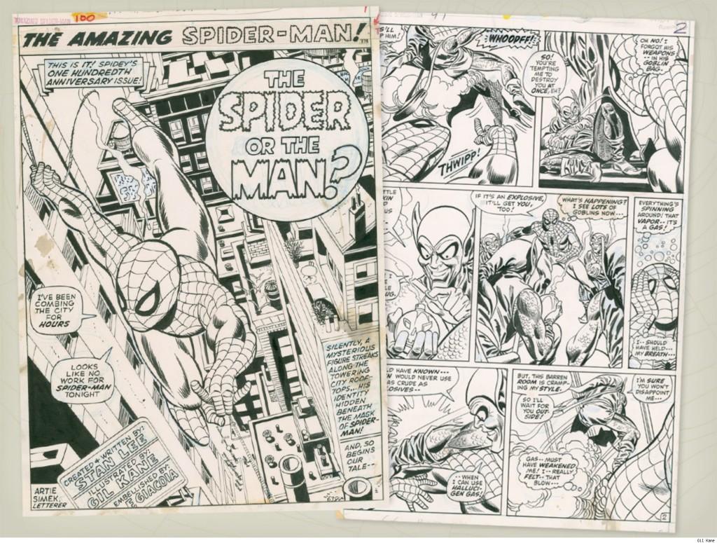 Gil Kane Spiderman