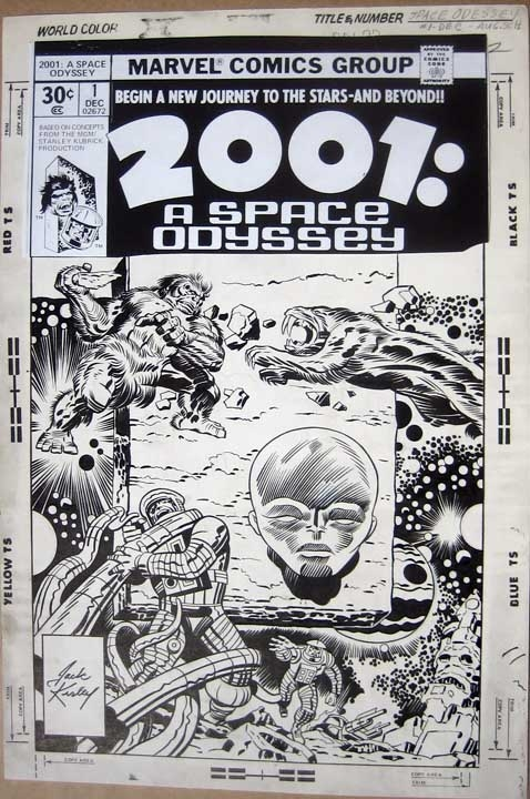 Jack Kirby 2001 Space Odissey
