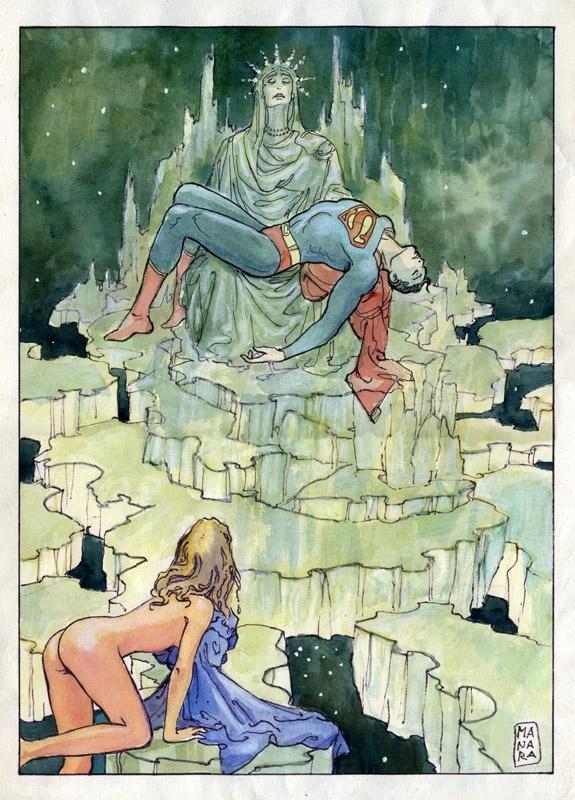 Milo Manara Superman